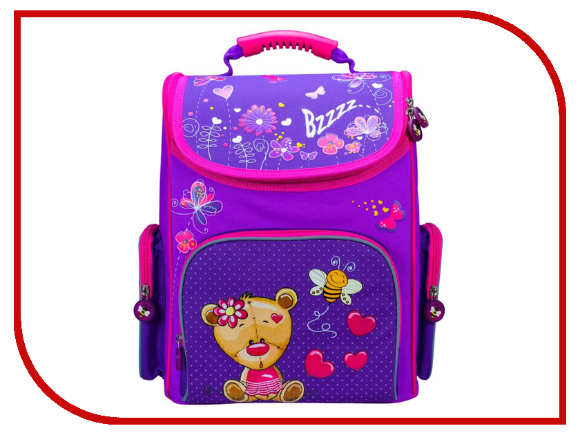 Рюкзак Silwerhof Bear Violet-Crimson рюкзак danny bear db14859 3