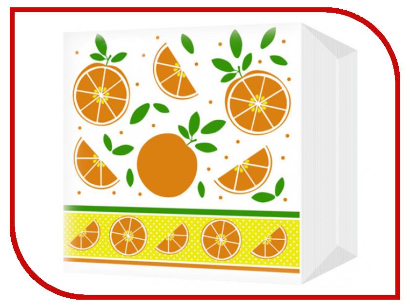 Салфетки Bulgaree Green Апельсины 24x24 1 слой 100шт 2112023 тарелка картонная bulgaree green праздник d 23cm 10шт