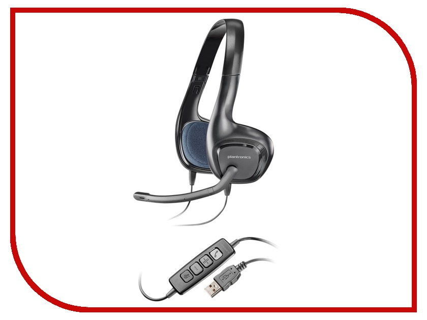 Plantronics Audio 628 81960-15 гарнитура plantronics audio 622 usb