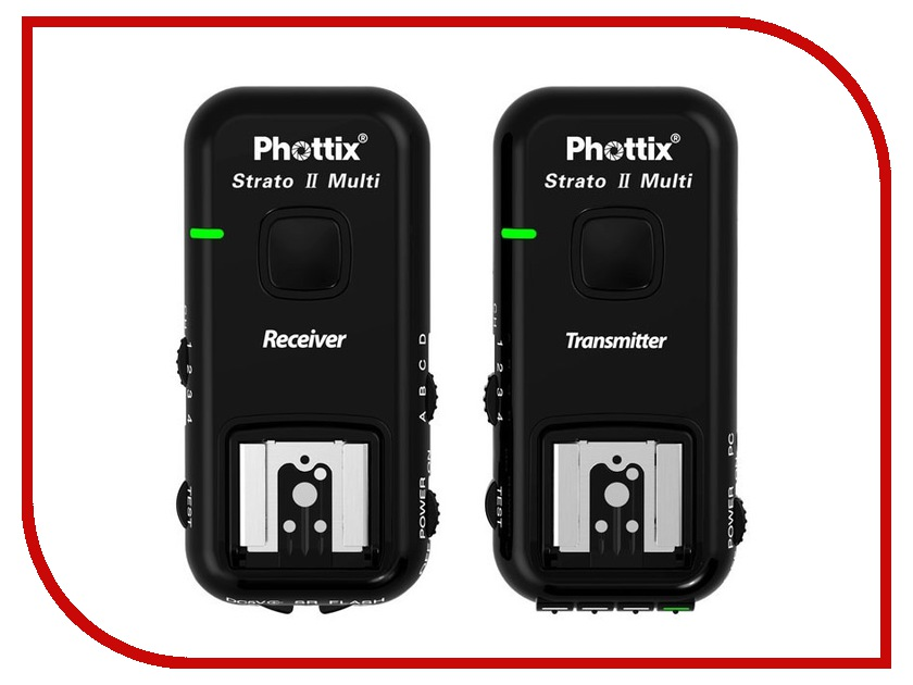Радиосинхронизатор Phottix Strato II 5-in-1 Wireless Trigger для Canon 15651 с кабелями