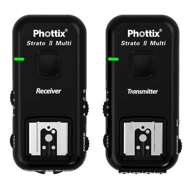 Phottix Strato II 5-in-1 Wireless Trigger для Canon 15651 с кабелями<br>