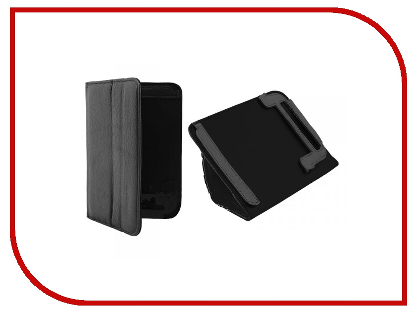 Аксессуар Чехол кожаный Pocketbook A7 Black