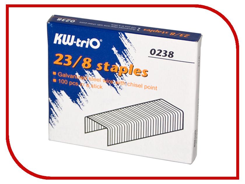 Скобы для степлера KW-triO 23/8 1000шт 0238 гаджет поисковик ключей foshan keyfinder hl kfona 0238