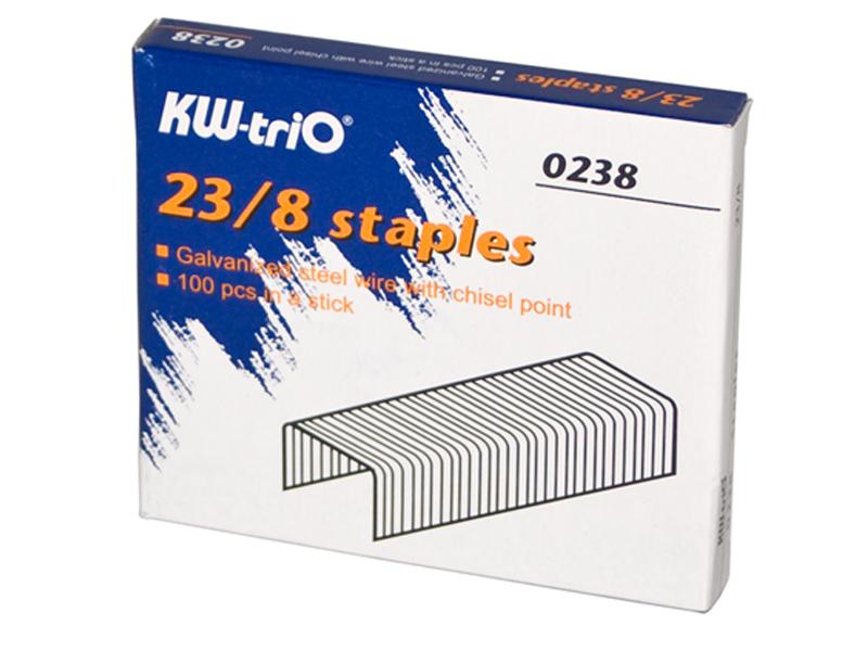 Скобы для степлера KW-triO 23/8 1000шт 0238 цена 2017