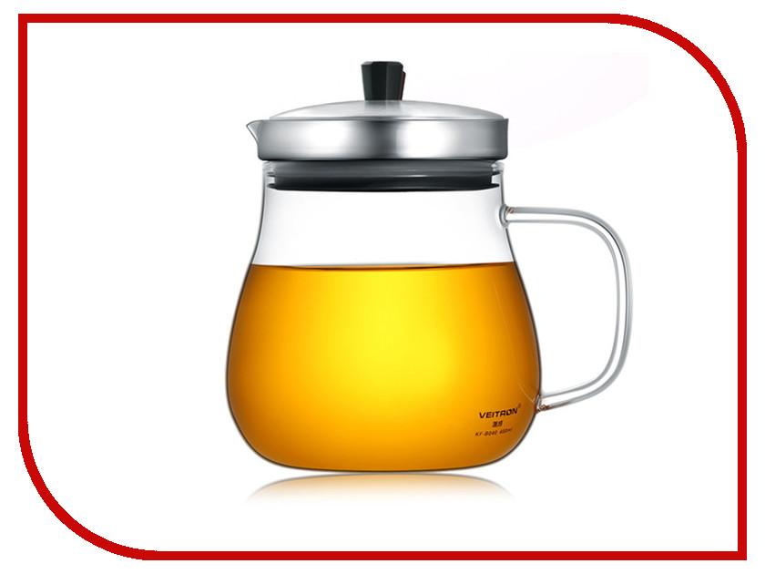 Заварочный чайник Veitron 600ml KF-B060 заварочный чайник veitron 300ml ls 300s
