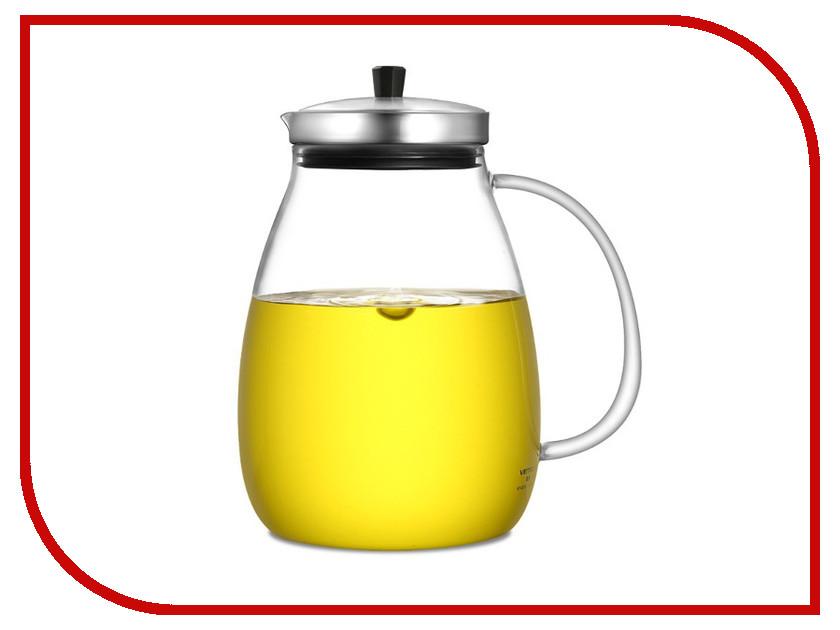 Заварочный чайник Veitron 1L KF-B100 измельчитель wolf garten sde 2800 evo