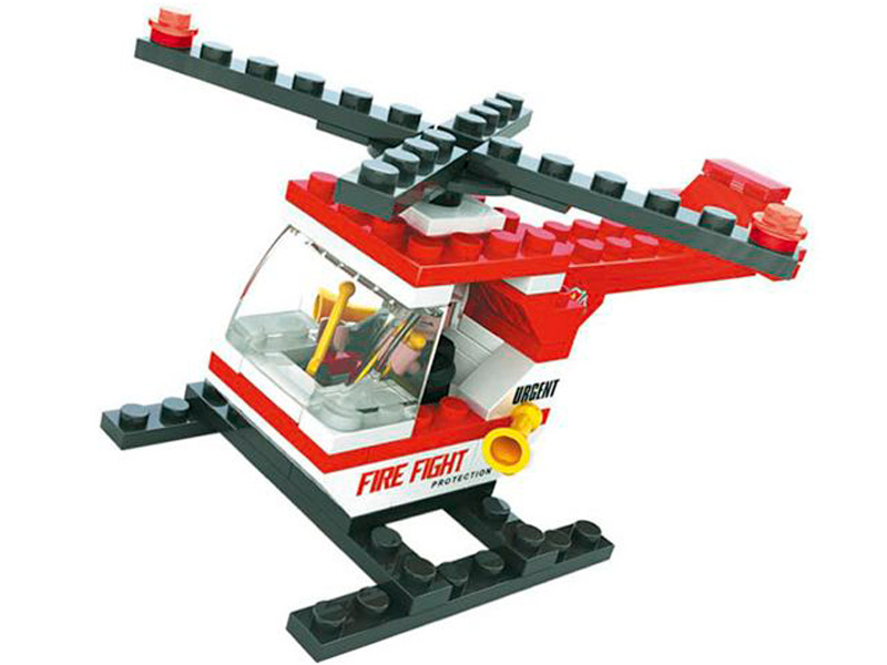 Конструктор Ausini Пожарная бригада - Вертолёт 69 дет. 21301