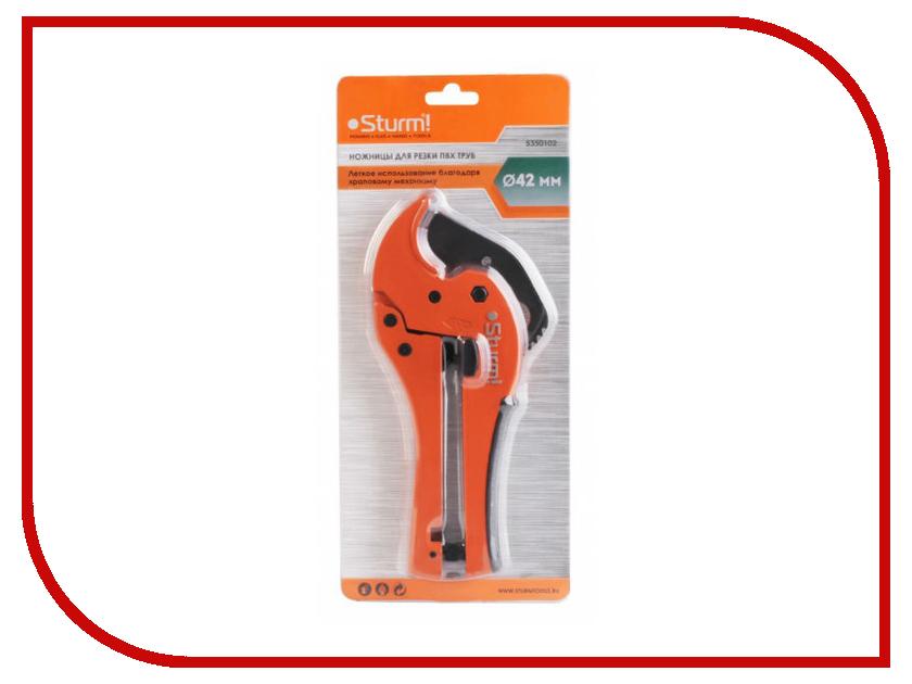 Ножницы для пластиковых труб Sturm! 5350102 стамеска sturm 12мм 10630112