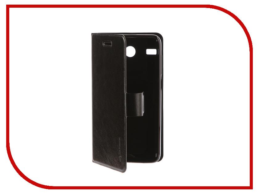 Аксессуар Чехол для Micromax Q3551 Black micromax силиконовый чехол для q346 q346l grey