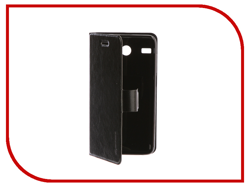 Аксессуар Чехол для Micromax MMX Q3551 Black micromax силиконовый чехол для q346 q346l grey