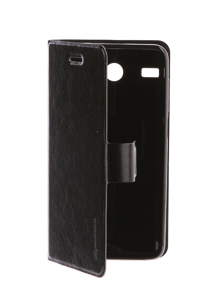 Аксессуар Чехол для Micromax MMX Q3551 Black чехол книжка micromax mmx q3551 черный