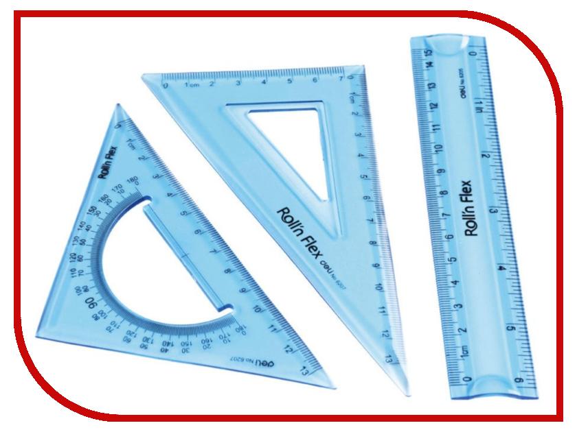 Набор линеек Deli 2шт E6204 калькулятор deli 1654
