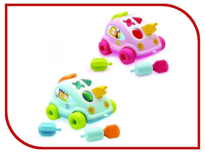 Сортер Smoby Каталка Автомобиль Cotoons 211118 игрушка smoby игровой центр cotoons 211421