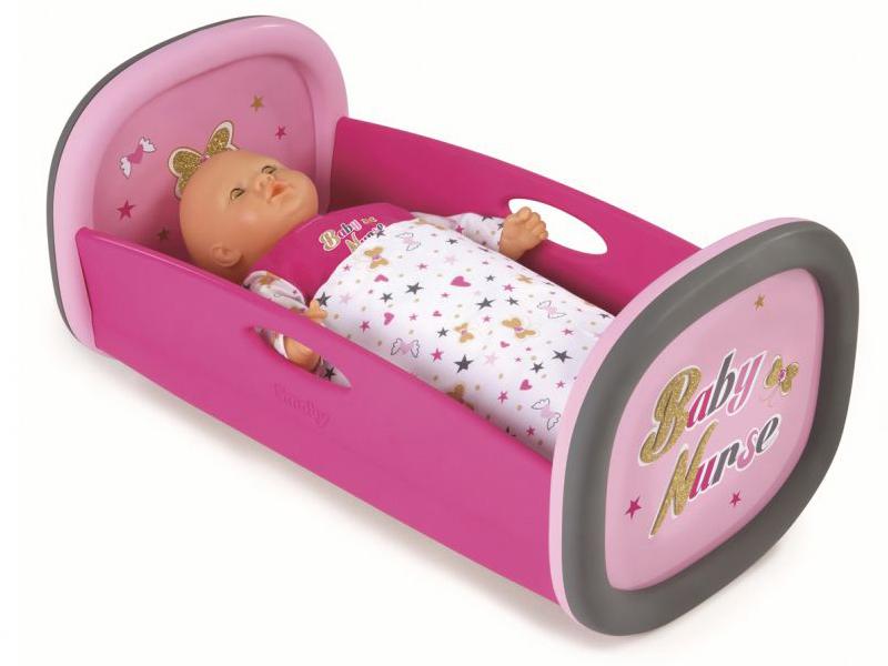 Smoby Колыбель Baby Nurse Pink 220313 цена