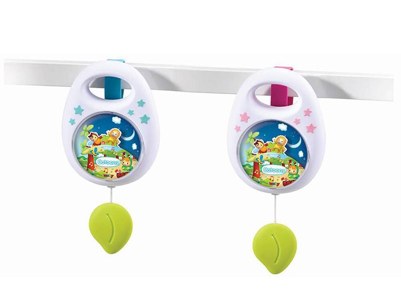 Игрушка Smoby Cotoons Музыкальная подвеска 110100 babyono музыкальная игрушка подвеска коровка
