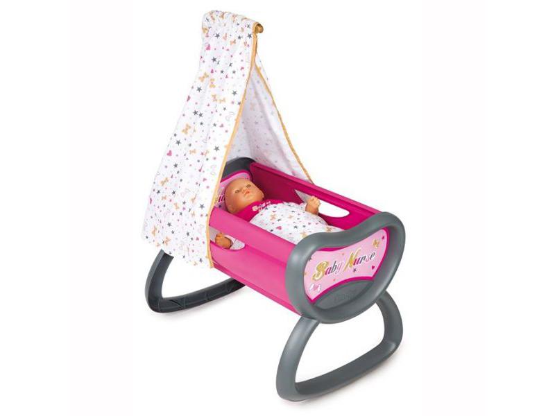 цена Колыбель для куклы Smoby Baby Nurse 220311 в интернет-магазинах