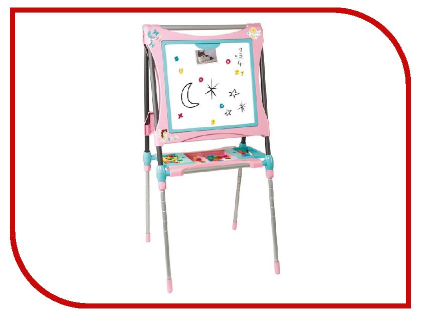 Мольберт-трансформер Smoby Pink 410203 smoby стол трансформер smoby