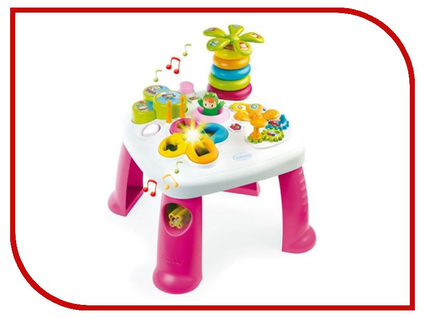 Игра Smoby Cotoons Игровой стол Pink 211170 сортеры smoby домик cotoons свет звук