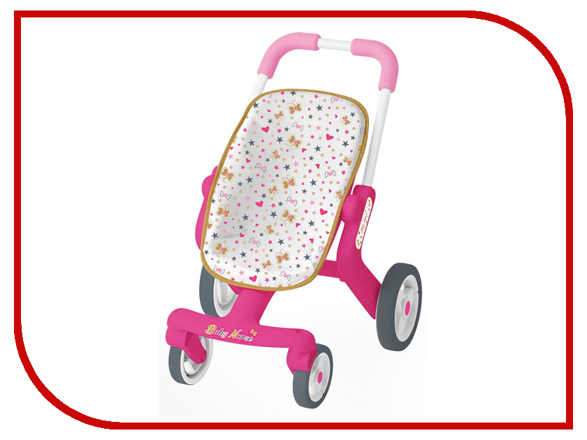 Коляска Smoby Baby Nurse Прогулочная коляска 251223 прогулочная коляска zooper waltz z9 sapphire