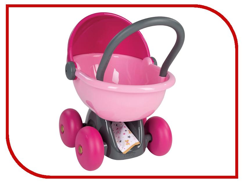 Коляска Smoby Baby Nurse Коляска для кукол 220312 колыбель для пупса smoby baby nurse 28 5х52х26см