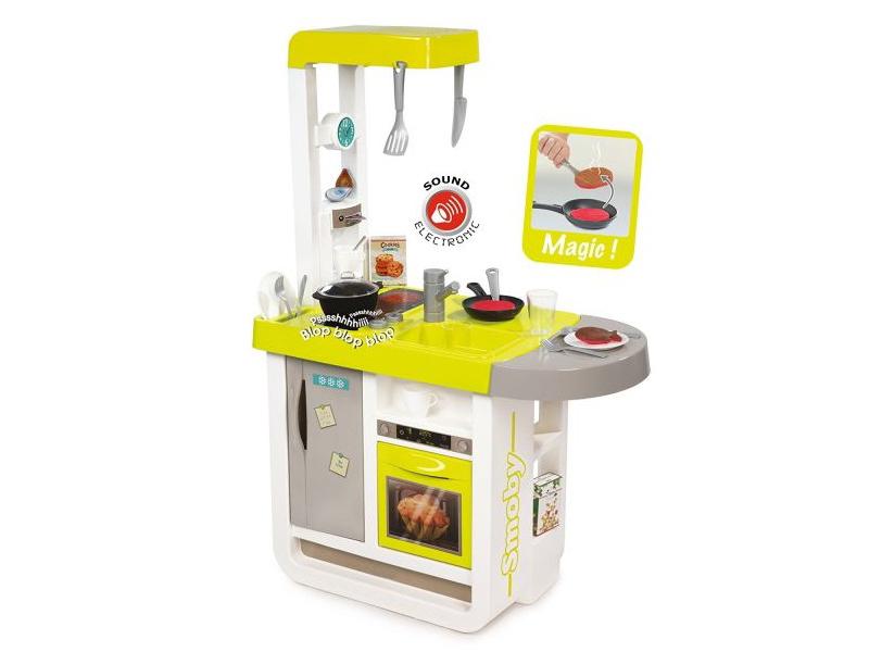 Кухня Smoby Cherry Yellow 310908 smoby princess 444144