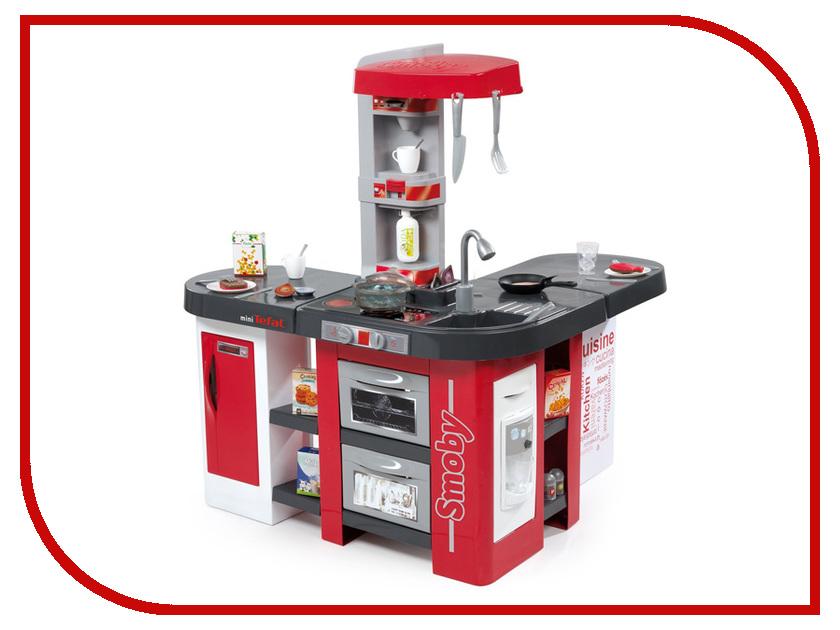 Кухня Smoby Tefal Studio XXL Red-Gray 311025 бытовая техника игрушечная smoby smoby набор tefal тостер кофеварка