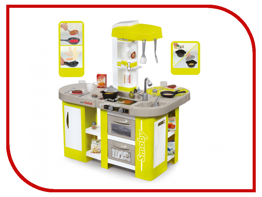 Игра Smoby Tefal Studio XL Кухня 311024 smoby smoby кухня cook master red
