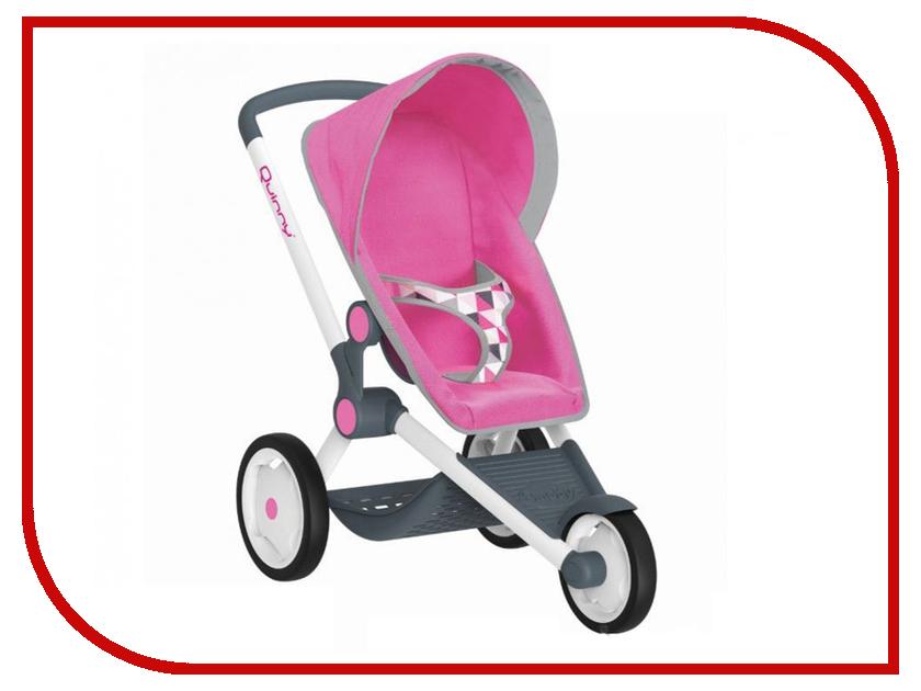 Коляска Smoby MC&Quinny Трехколесная коляска для кукол Pink 255097 caretto коляска 2 в 1 michelle color mc 03 caretto черный бел цветы