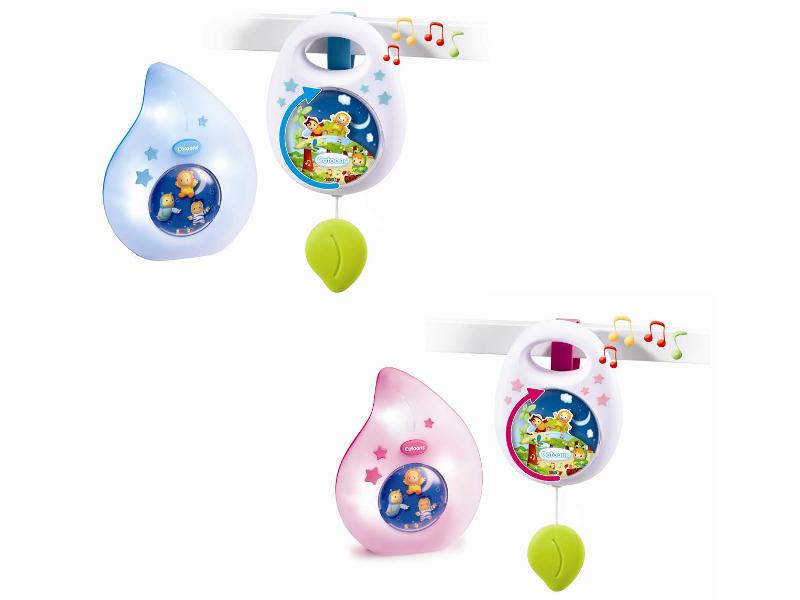 Игрушка Smoby Cotoons Музыкальная подвеска и ночник 110104 babyono музыкальная игрушка подвеска коровка