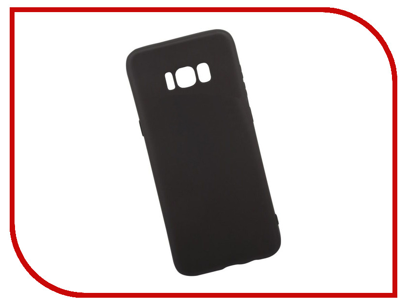 Аксессуар Чехол для Samsung Galaxy S8 Plus Liberty Project Silicone TPU Black 0L-00034348