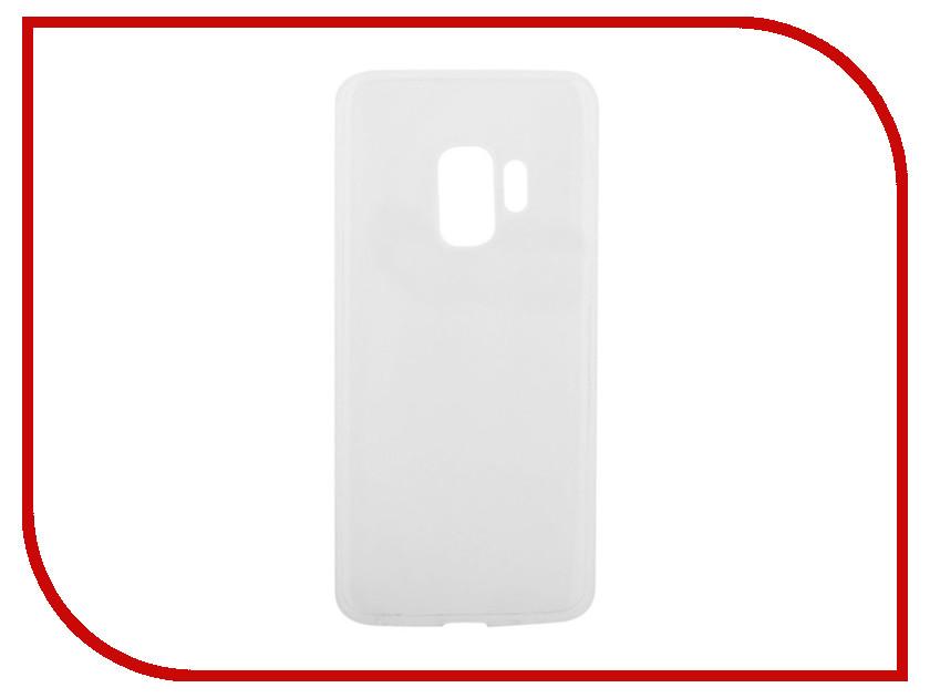 Аксессуар Чехол для Samsung Galaxy S9 Liberty Project Silicone TPU Transparent 0L-00036747 liberty project чехол для samsung galaxy s5 black 0 4 мм