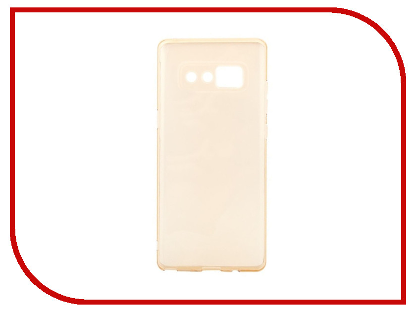 Аксессуар Чехол для Samsung Note 8 Liberty Project Silicone TPU Gold 0L-00034398 protective tpu silicone back case w stand for samsung galaxy note 3 translucent blue white