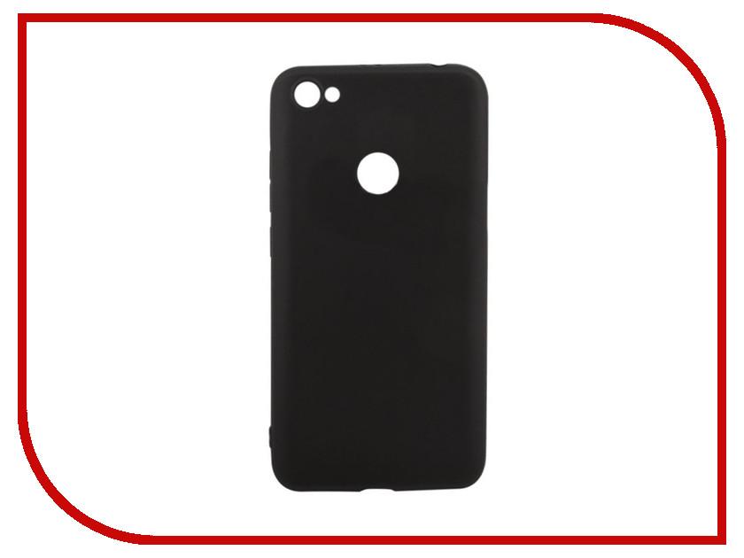 Аксессуар Чехол для Xiaomi Redmi Note 5A Liberty Project Silicone TPU Black 0L-00035436 cute cartoon pattern tpu back case for htc one mini m4 601e black grey