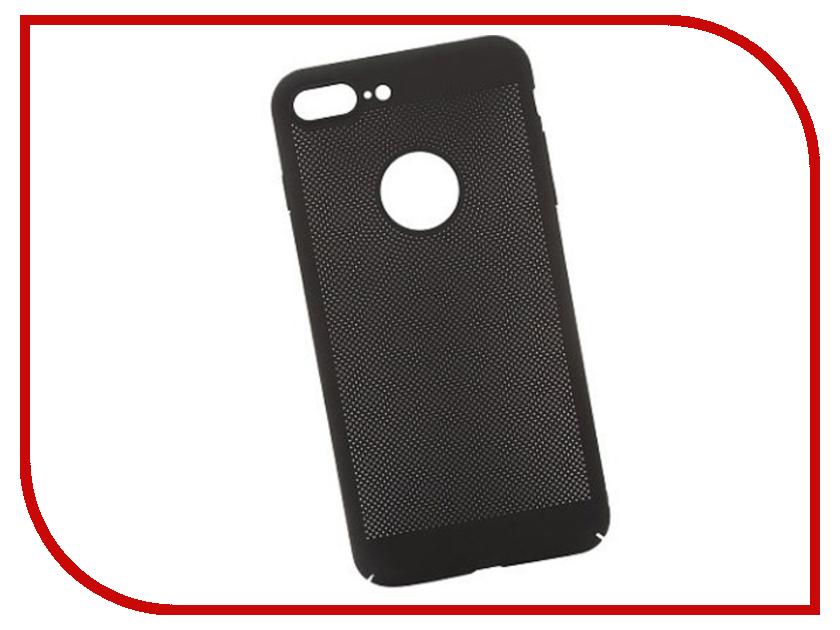 Аксессуар Защитная крышка Liberty Project Сетка Soft Touch для APPLE iPhone 8 Black 0L-00035236