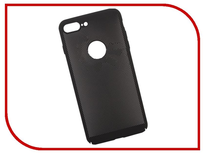 Аксессуар Защитная крышка Liberty Project Сетка Soft Touch для APPLE iPhone 8 Plus Black 0L-00035239