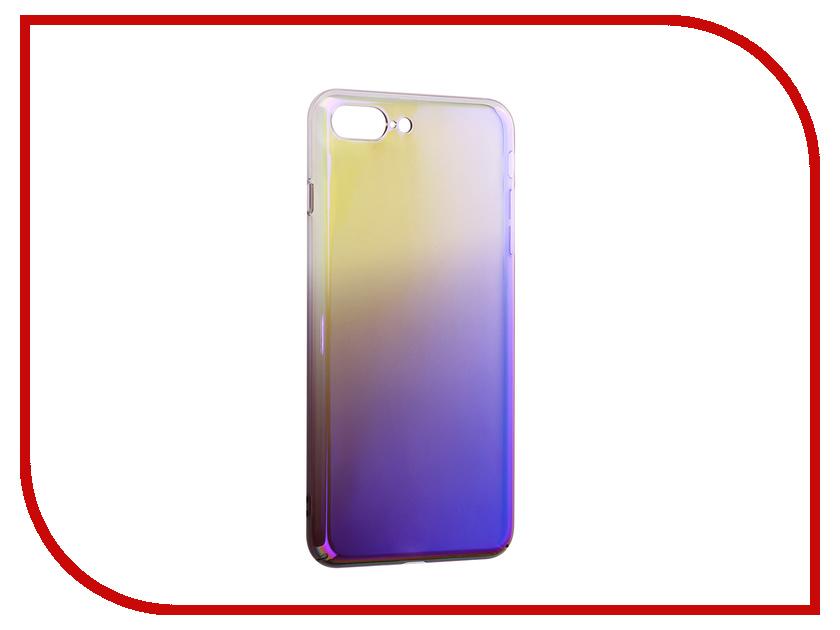 Аксессуар Защитная крышка Liberty Project Градиент для APPLE iPhone 8 Plus/7 Plus Transparent-Purple 0L-00034191 liberty project защитное стекло liberty project для apple iphone 6 plus 6s plus