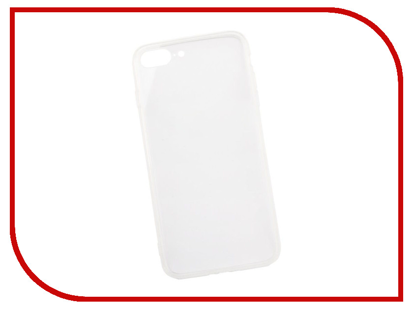 Аксессуар Защитная крышка Liberty Project Silicone для APPLE iPhone 8 Plus/7  Transparent 0L-00033021