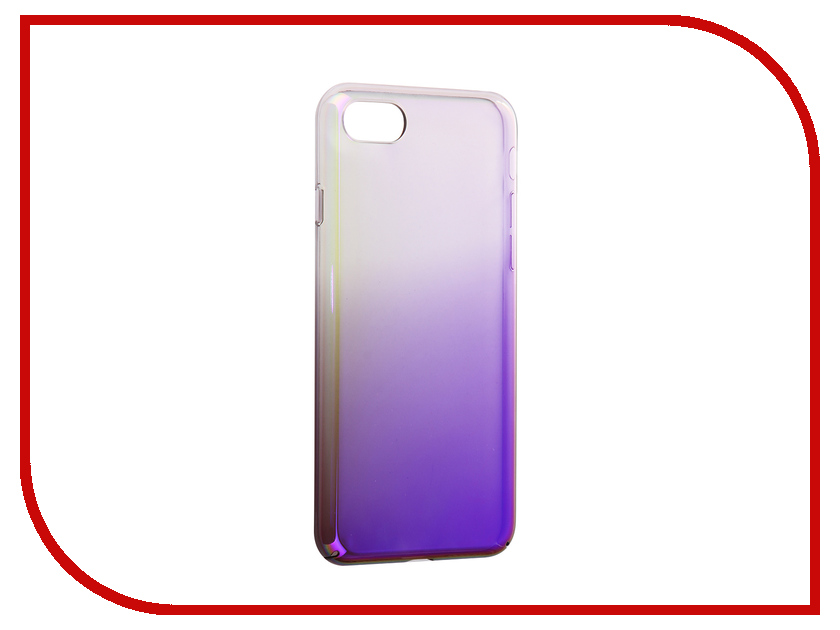 Аксессуар Защитная крышка Liberty Project Градиент для APPLE iPhone 8 / 7 Transparent-Purple 0L-00034188 aluminum project box splitted enclosure 25x25x80mm diy for pcb electronics enclosure new wholesale