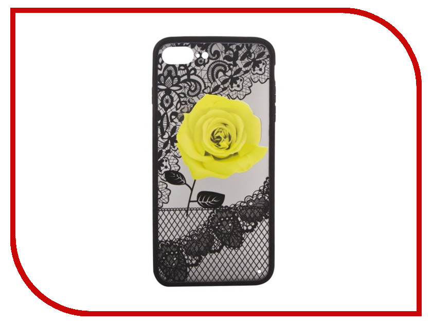 Аксессуар Защитная крышка Liberty Project для APPLE iPhone 8 Plus/7 Plus Rose Yellow 0L-00036268 аксессуар крышка задняя iridium для iphone 6 4 7 inch yellow