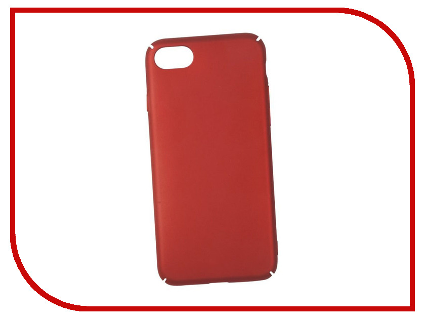 Аксессуар Защитная крышка для APPLE iPhone 8 / 7 Liberty Project Soft Touch Red 0L-00030609 new 7 inch case touch screen for supra m741 m742 tablet touch panel digitizer glass sensor replacement free shipping