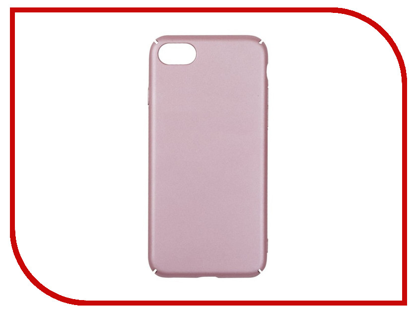 Аксессуар Защитная крышка для APPLE iPhone 8 / 7 Liberty Project Soft Touch Pink 0L-00030612 new 7 inch case touch screen for supra m741 m742 tablet touch panel digitizer glass sensor replacement free shipping