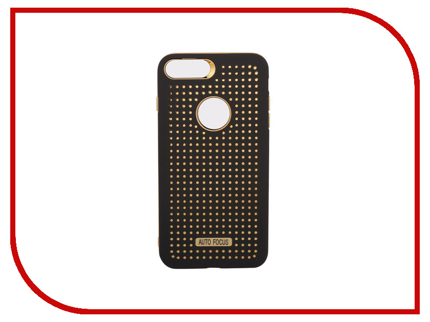 Аксессуар Защитная крышка для APPLE iPhone 8 / 7 Plus Liberty Project Soft Touch Black-Gold 0L-00034775 new 7 inch case touch screen for supra m741 m742 tablet touch panel digitizer glass sensor replacement free shipping