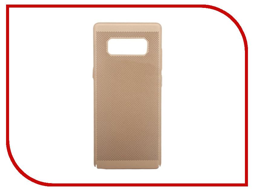 Аксессуар Защитная крышка Liberty Project Сетка Soft Touch для Samsung Galaxy Note 8 Gold 0L-00035138