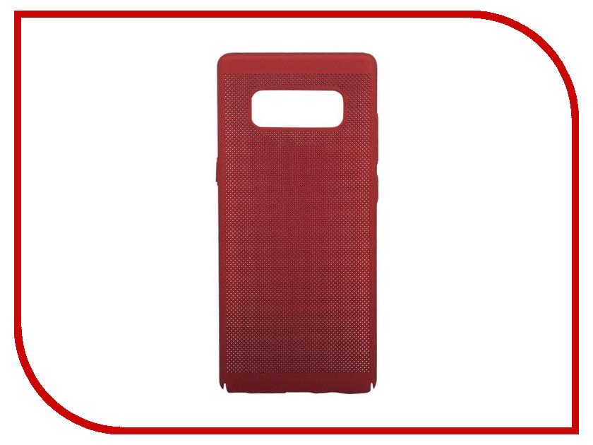 Аксессуар Защитная крышка для Samsung Galaxy Note 8 Liberty Project Сетка Soft Touch Red 0L-00035137 liberty project чехол для samsung galaxy win red