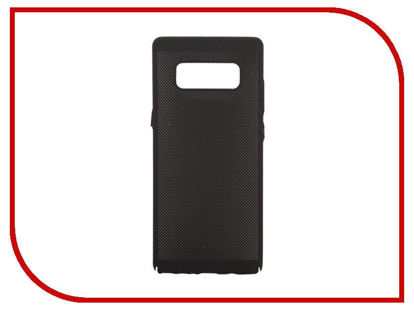 Аксессуар Защитная крышка для Samsung Galaxy Note 8 Liberty Project Сетка Soft Touch Black 0L-00035136