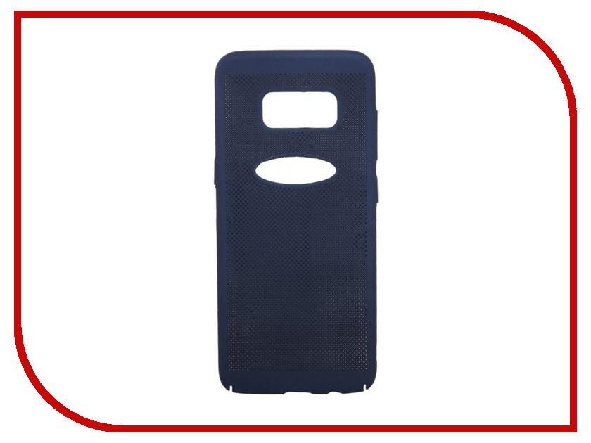 Аксессуар Защитная крышка для Samsung Galaxy S8 Liberty Project Сетка Soft Touch Dark-Blue 0L-00035143 аксессуар защитная крышка liberty project сетка soft touch для apple iphone 8 black 0l 00035236