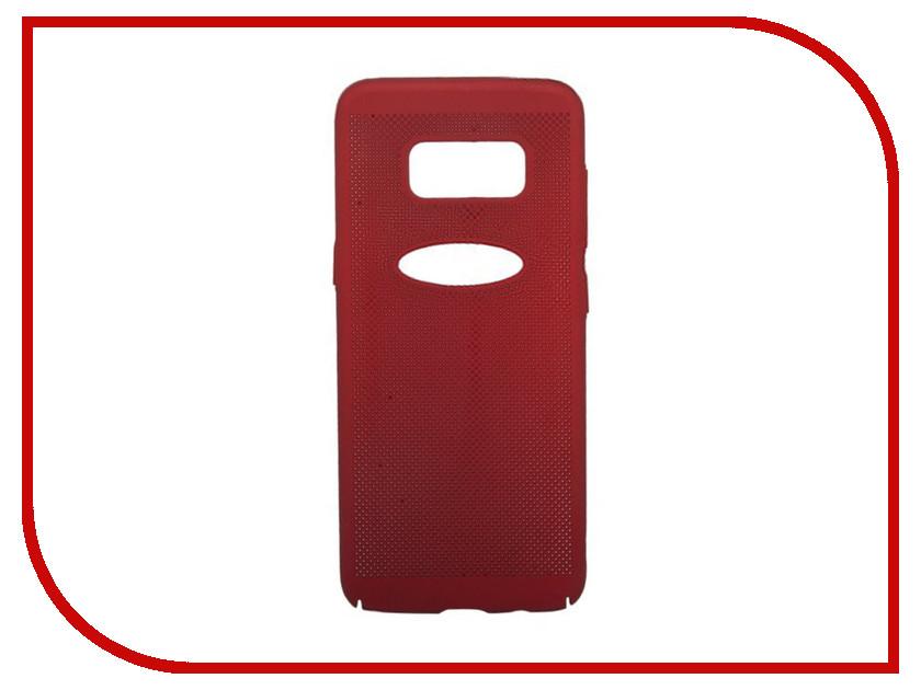 Аксессуар Защитная крышка для Samsung Galaxy S8 Plus Liberty Project Сетка Soft Touch Red 0L-00035145