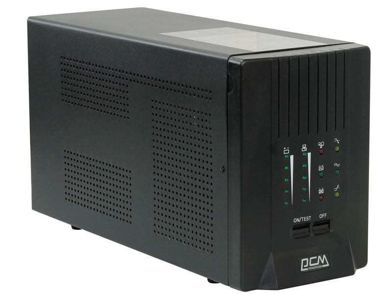 Источник бесперебойного питания Powercom SMART KING PRO+ SPT-2000 Black