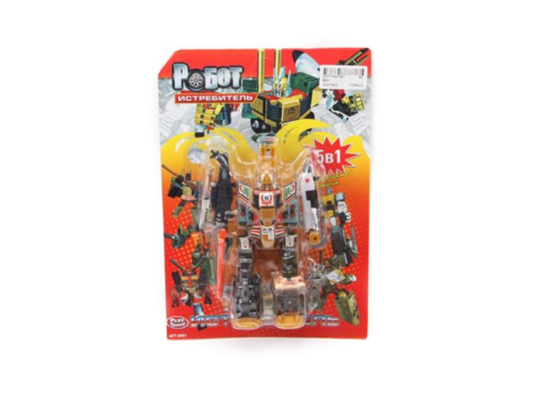 Игрушка Joy Toy Робот-истребитель G017-H21047 игрушка joy toy снайпер 7149