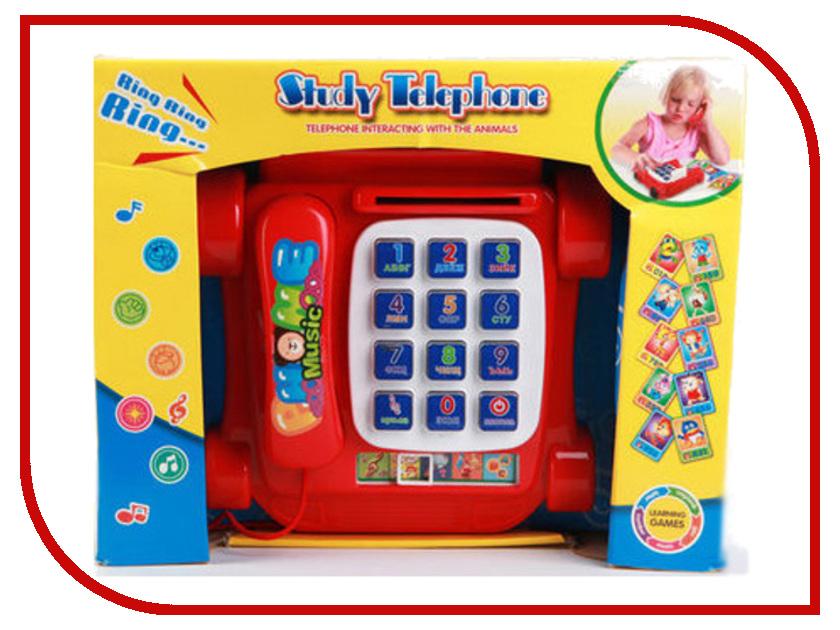 Телефончик Joy Toy Study Telephone Red 9093A new simulation red fox toy polyethylene